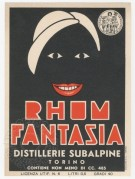 Rhum Fantasia label