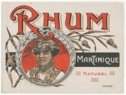 Rhum Martinique Naturel label