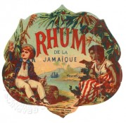 Rhum de la Jamaique label
