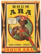 Rhum Ara label