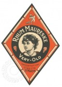Rhum Maureske, Very Old, label