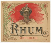 Rhum Superieur label