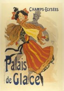 Poster for Palais de Glace ice skating