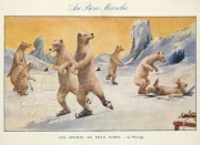 Winter sports at the North Pole