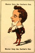 Victorian 'Happy Families' Playing Card