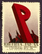 Italian, Padua Centenary Fair Stamp
