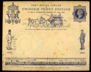 First day Cover for Post Office Jubilee