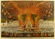 Firework Display in the Place Louis XV