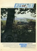 Advert for the Fiat 124