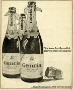 Gancia Spumante Advert