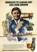Canada Dry Advert with John Brown