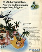 BOAC Airline Advert