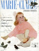 Marie Claire Magazine Cover 1956