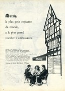French advert for Mutzig beer