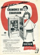 Advert for Diener Refridgerators