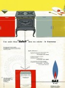 Advert for Gaz cookers
