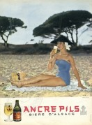 Advert for Ancere Pils Beer
