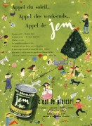 Advert for Jem Flavoured Milk