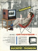Advert for a Thomson Television