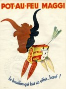 Advert for Pot-Au-Feu Maggi Broth