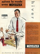 Advert for Noveltex Shirts