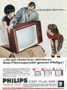 Advert for Philips Televisions
