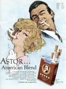 Advert for Astor Cigarettes