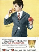 Advert for Apple Juice