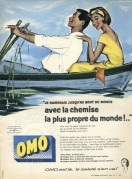 Advert for Omo Washing Powder