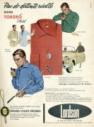 Advert for Lordson Shirts