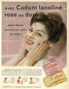 Advert for Cadum Soaps