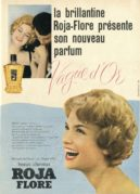 Advert for Vague d'Or Perfume