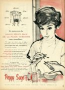 Advert for Peggy Sage Nail Varnishes
