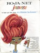 Advert for Hair Lacquer