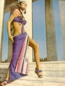 Advert for Italian bathing apparel