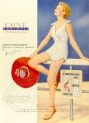 USA advert for Cone Coolwave swimsuits