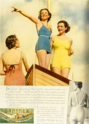 Seaside advert for Gantner underwear