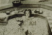 Lady in a sunken bath
