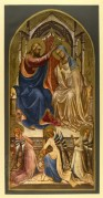 The annointing of the Madonna