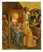 Madonna and Child with the 3 Wise Men