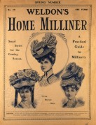 Weldon's Home Milliner magazine cover