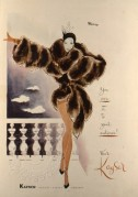 Advert for Kayser hosiery, gloves and lingerie