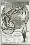 Advert for the Velvet Grip