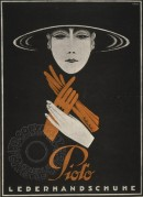 Advert for Pioto Leather Gloves