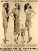 Lingerie Advert from Debenham & Freebody