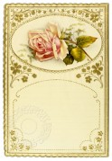 A rose headed notepaper