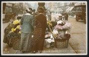 Flower Sellers at Oxford Circus, London
