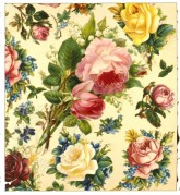 Red, White and Yellow Roses Wallpaper