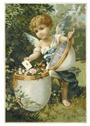 Angel with a 'golden egg'