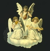 Three musical angels